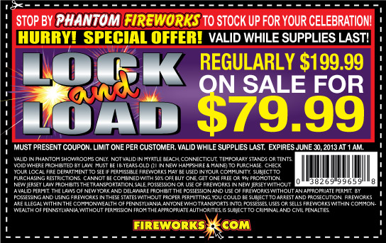 Every year I get a mailer asking me to drive over the border to New Hampshire to buy fireworks.
